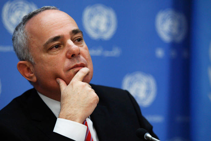 Minister of Strategic and Intelligence Affairs for International Relations of Israel Yuval Steinitz (Reuters / Eduardo Munoz)