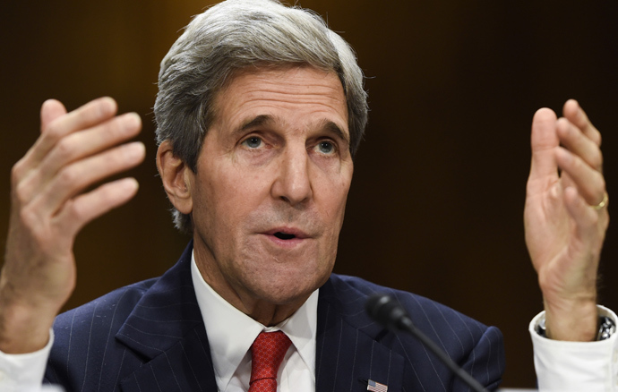 US Secretary of State John Kerry (AFP Photo / Saul Loeb)