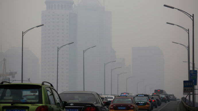 Nearly half of Americans live in areas with heavily polluted air