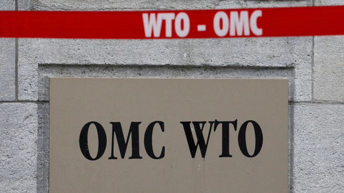 WTO expects trade growth to more than double in 2014