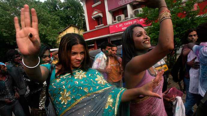India recognizes transgender citizens as 'third gender'