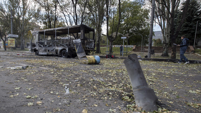 Blast targets self-proclaimed E. Ukraine leader's vehicle, 2 killed
