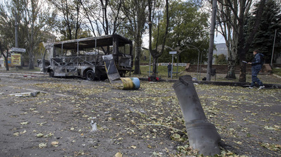 Military seize airfield controlled by anti-govt activists in eastern Ukraine