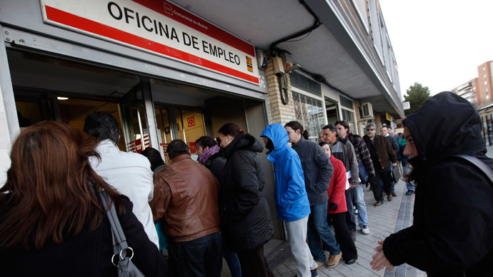 Spain unemployment to take 10 years to recover – report