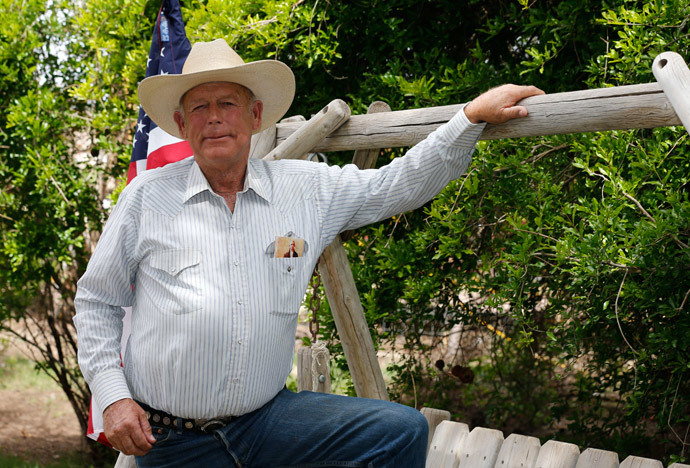 Rancher Cliven Bundy (George Frey / Getty Images / AFP Photo)