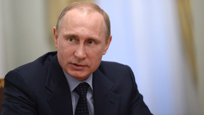 Putin: Ukraine's radical escalation puts it on edge of civil war