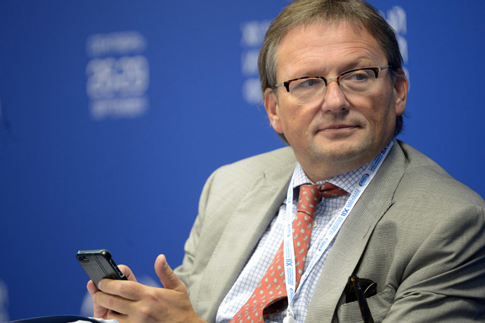 Commissioner for Entrepreneurs' Rights Boris Titov (RIA Novosti/Grigoriy Sisoev)