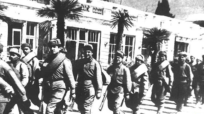 Historic city of Yalta celebrates 70 years since liberation from Nazi troops