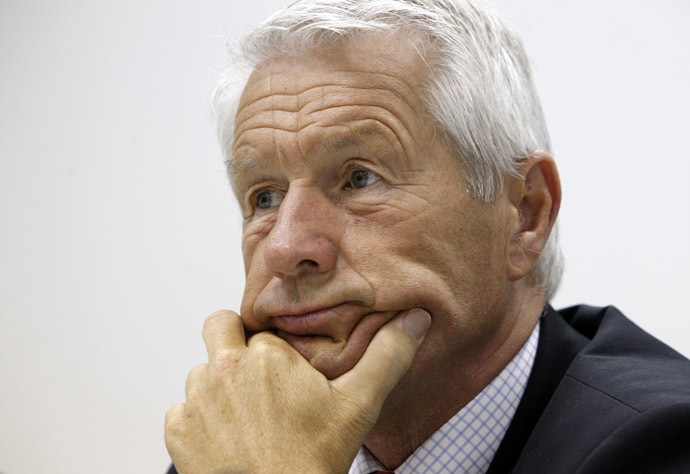 Thorbjorn Jagland, secretary-general of the Council of Europe (Reuters/Sergei Karpukhin)