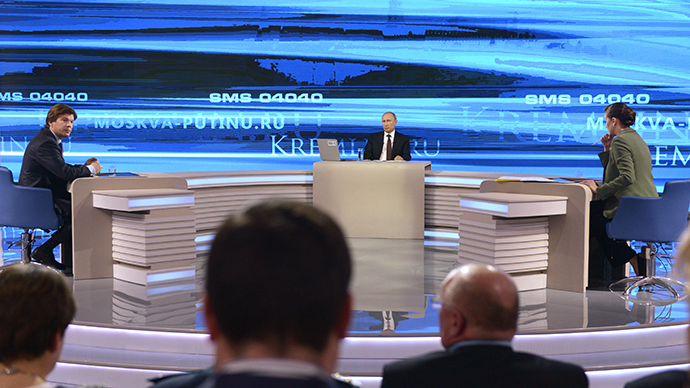 Putin: 'Nonsense - no Russian troops, special services in east Ukraine'