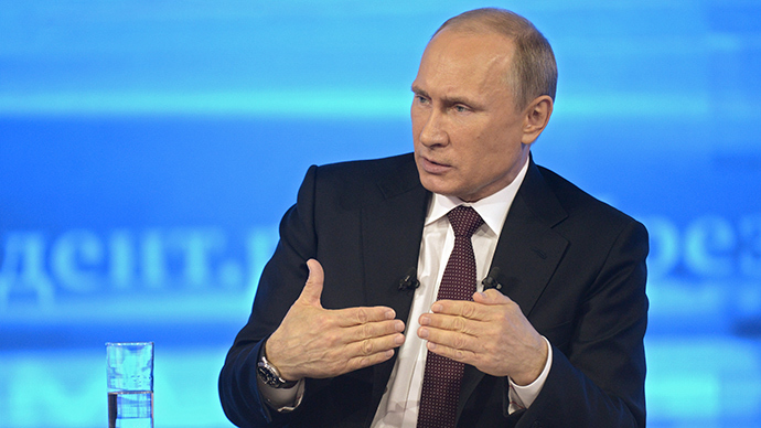 Pre-payment for gas to Ukraine if current bills not met - Putin