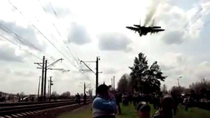 Video still from video by vk.com user Vasily Petrov