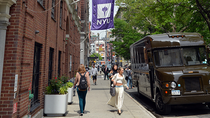 NYU president turned faculty apartments into a duplex for his son