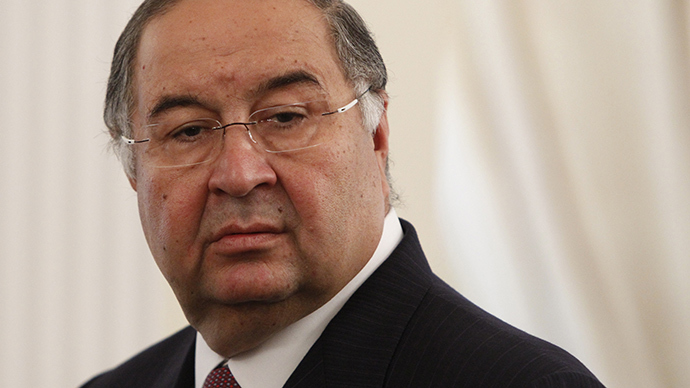 Usmanov ranked Russia's richest man for a third time