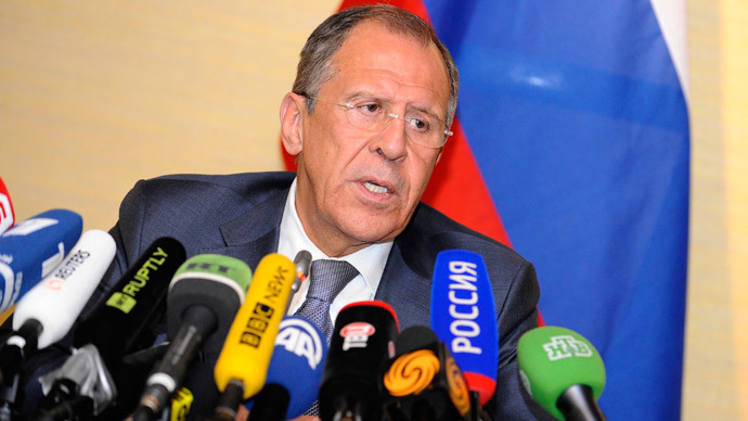 Lavrov: Kerry's 'prosecutorial' RT assault unacceptable