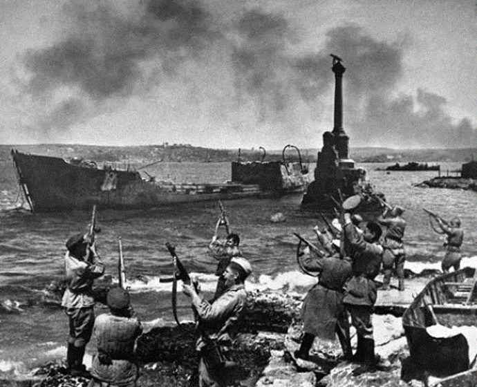 Harbor of Sevastopol, May 9, 1944
