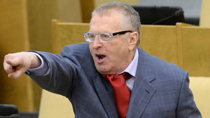 Leader of the Liberal Democratic Party Vladimir Zhirinovsky (RIA Novosti/Vladimir Fedorenko)