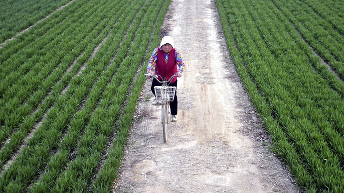 Nearly 20 percent of Chinese farmland contaminated