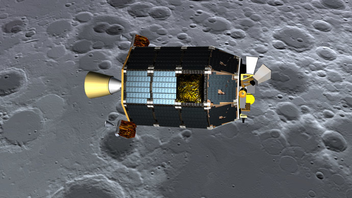 NASA crashed LADEE spacecraft into moon at 3,600 mph