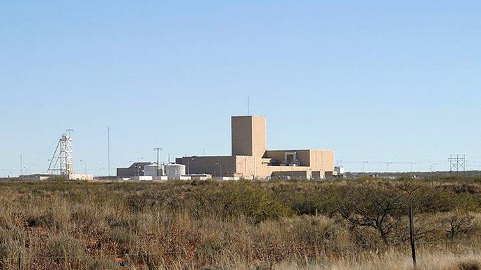 Crews locate area of radiation leak at New Mexico nuclear waste site