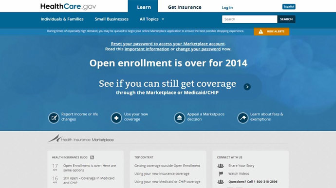 ​Obamacare enrollees warned about Heartbleed super bug