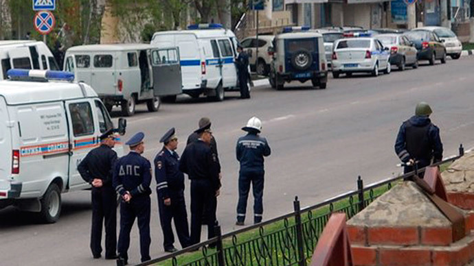 Armed hostage taker in southwest Russian bank peacefully surrenders