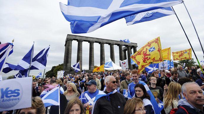 ​Unionists rally as Scottish independence mood gains ground
