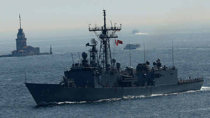 US sends 600 troops to Eastern Europe, warship USS Taylor enters Black Sea
