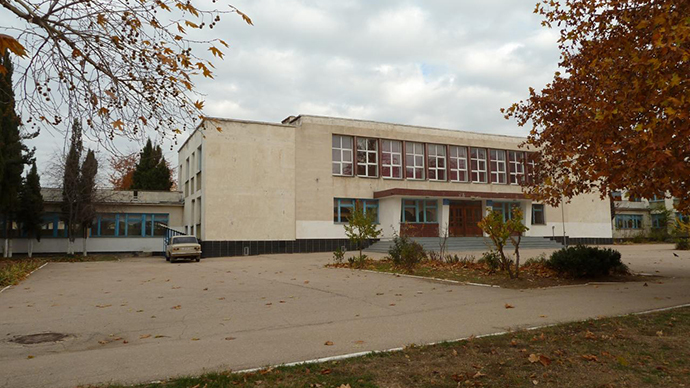 The building of Sevastopol school#5 (Image from wikimapia.org)
