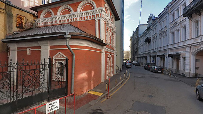Unexploded WWII shell found in ancient church 400 meters from Kremlin