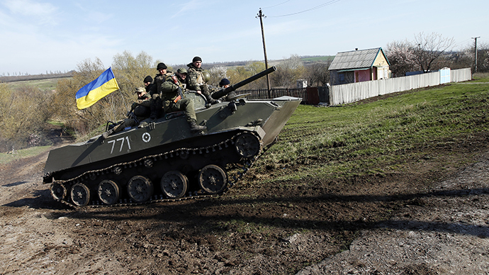 Russia 'forced' to launch military drills near border in response to Ukraine op