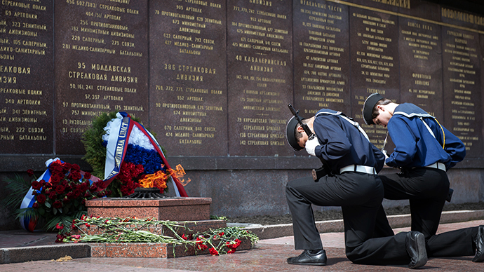 Russian leader congratulates Ukrainian WWII veterans, urges common fight against neo-Nazism