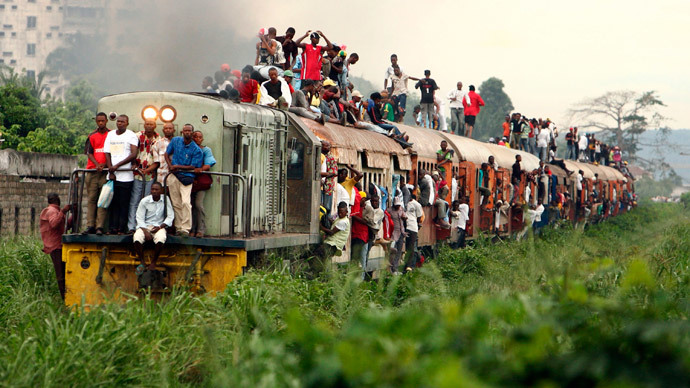 Congo train crash: Over 60 killed, 80 injured