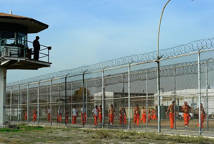 Chino State Prison (AFP Photo / Kevork Djansezian)