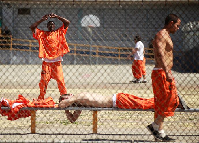 Chino State Prison (Reuters / Lucy Nicholson)