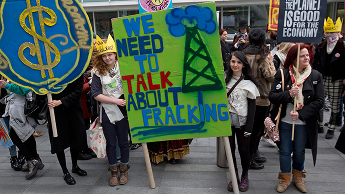Up for shale: Fracking lobby claims UK gas could draw $55bn in investment
