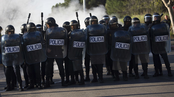 Spanish authorities 'determined to crush peaceful protest' – Amnesty Intl