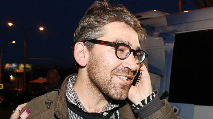 Detained Vice journalist Simon Ostrovsky released in east Ukraine