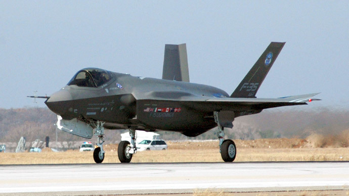 Money for nothing? Boeing says F-35 isn't so stealth after all