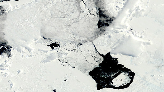 NASA worried by unusually big iceberg six times the size of Manhattan (PHOTO, VIDEO)