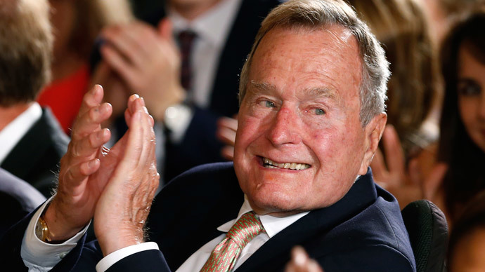 Former President George H. W. Bush.(Reuters / Kevin Lamarque)
