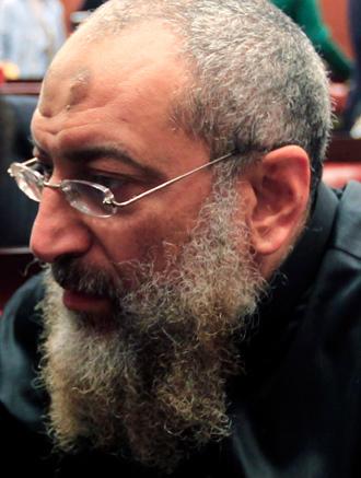 Salafist cleric leader Yasser Borhamy (Reuters / Mohamed Abd El Ghany)