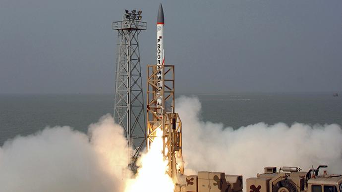 India successfully test-fires long-range interceptor missile