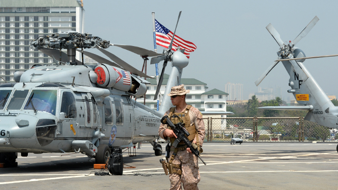 American military gets access to upwards of five Filipino bases