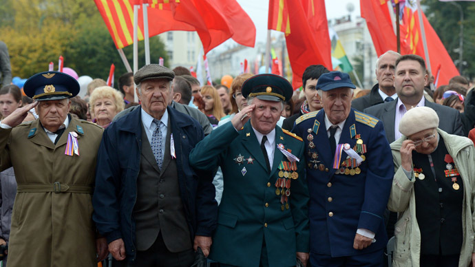 West attempts to diminish Russia's role in WWII - DM
