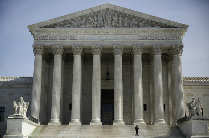 The exterior of the U.S. Supreme Court is seen in Washington (Reuters/Gary Cameron)