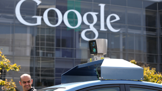 Google's driverless cars take a ride on city streets