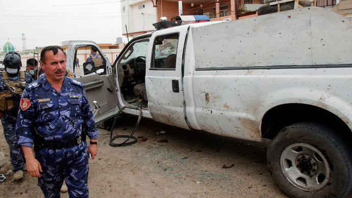 ​Suicide bombers kill at least 50 across Iraq ahead of general election