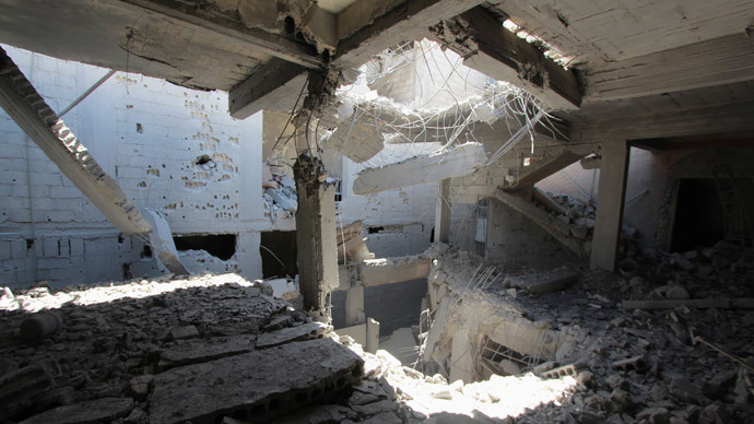 Car bombs and mortars kill over 50 in Homs and Damascus