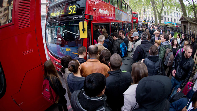 Tube strike incapacitates London in 48-hour action against job cuts
